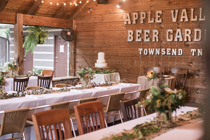 Wedding Venues in the Tennessee Mountains