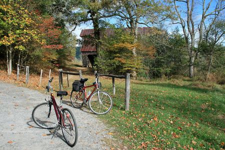 Biking in Cades Cove