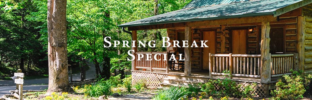 Spring Break Special at our Townsend TN Hotel