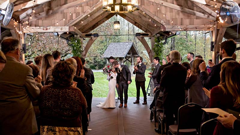 Majestic Smoky Mountain Wedding Venues in Townsend TN