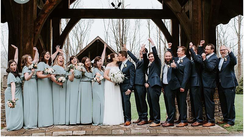 Smoky Mountain Elopement Wedding Venues in Townsend TN