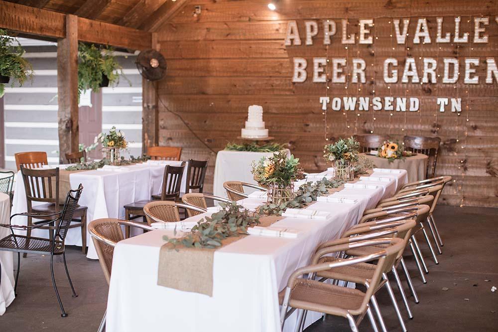 Apple Valley Beer Garden in Townsend TN