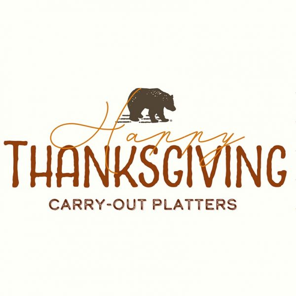 Thanksgiving Carry-Out Platters