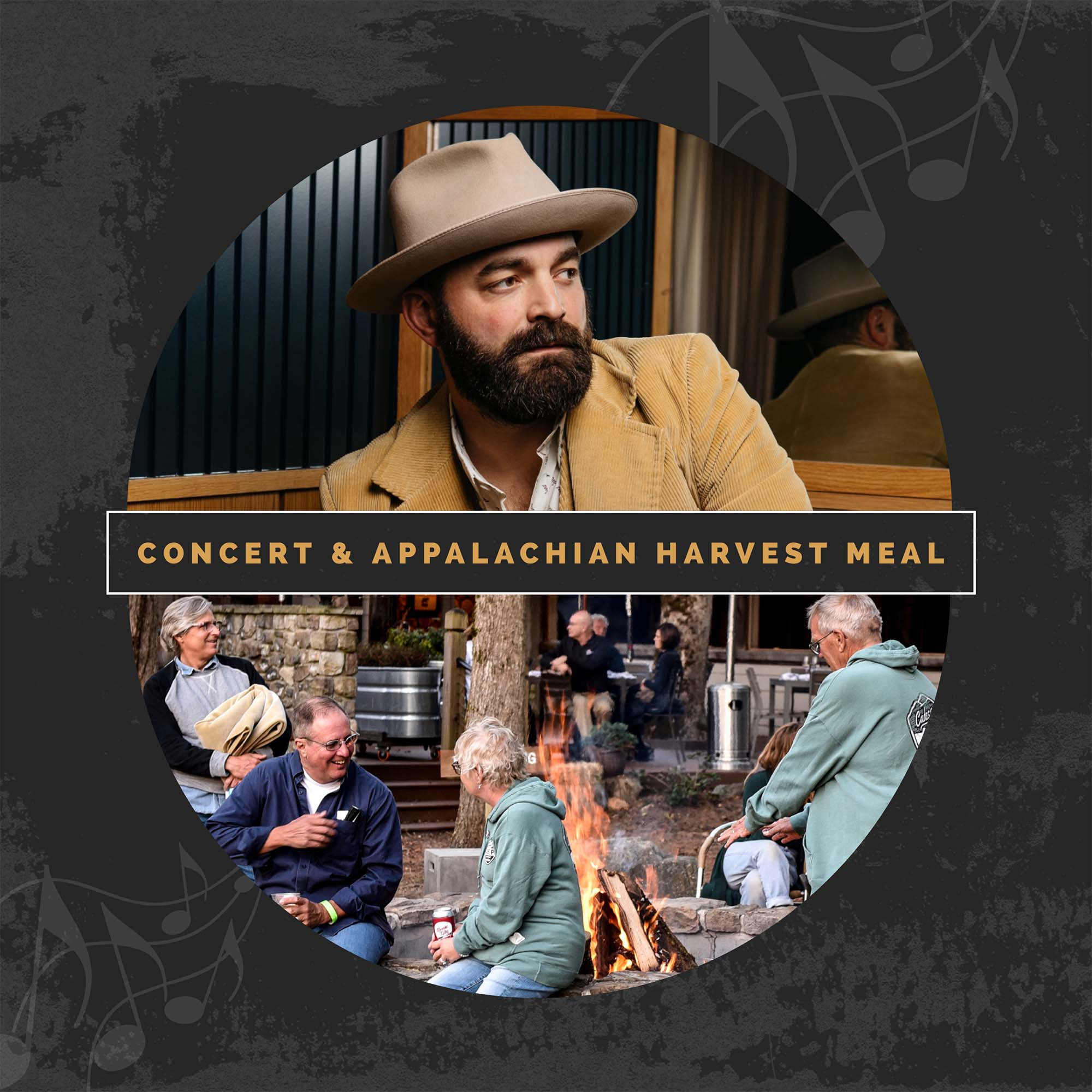 Concert and Appalachian Harvest Meal